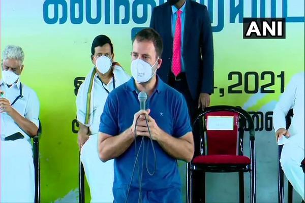 farmers modi government terrorists rahul gandhi tamil nadu