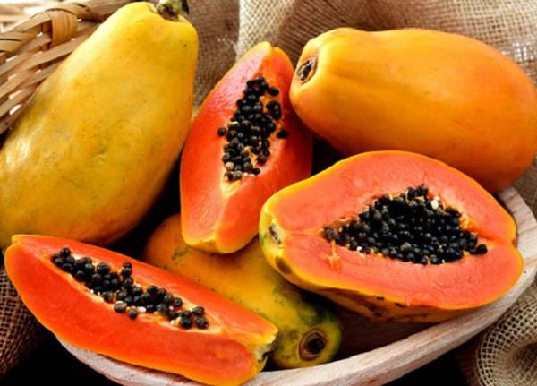 papaya  eyes  skin  weight  diseases  benefits