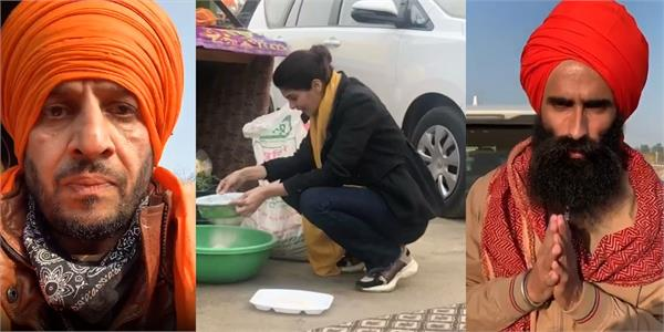 these punjabi artists arrived to celebrate the new year with farmers