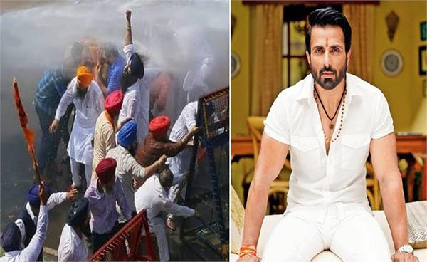 sonu sood s new film kisaan launched amid farmers protests