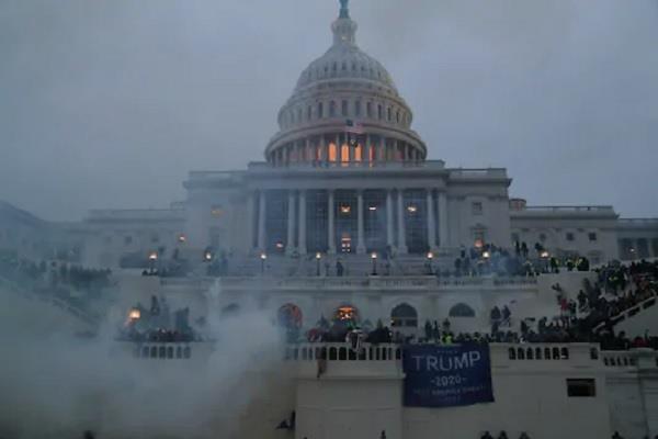 capitol hill us violence donald trump