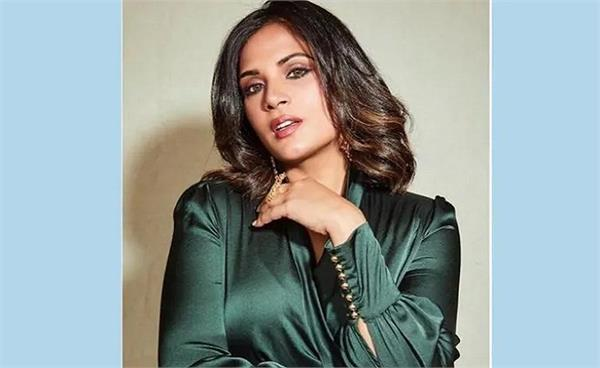 bollywood actress richa chadha to become   chief minister