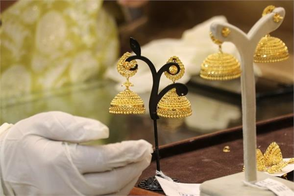 gold demand dropped by 35 percent
