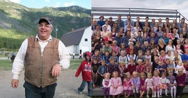 canada  64 year old person  father of 150 children