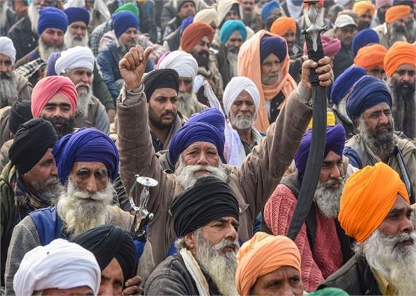 farmers protest at delhi borders day 52th
