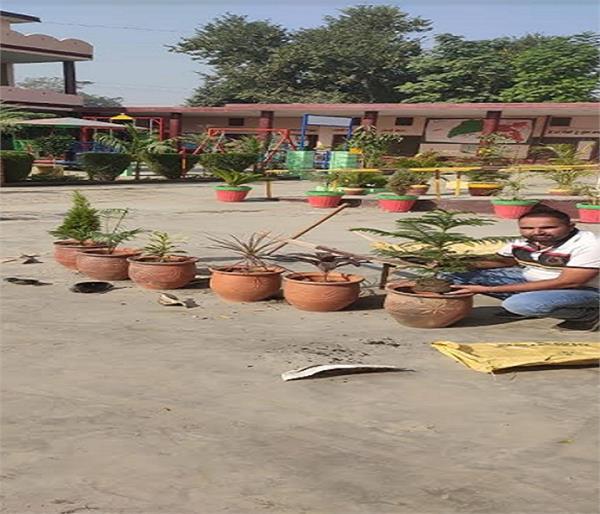 government teacher  school  sangrur  master