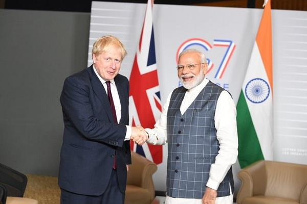 narendra modi uk g7 summit boris johnson