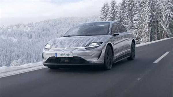 sony starts testing vision s electric car on public roads