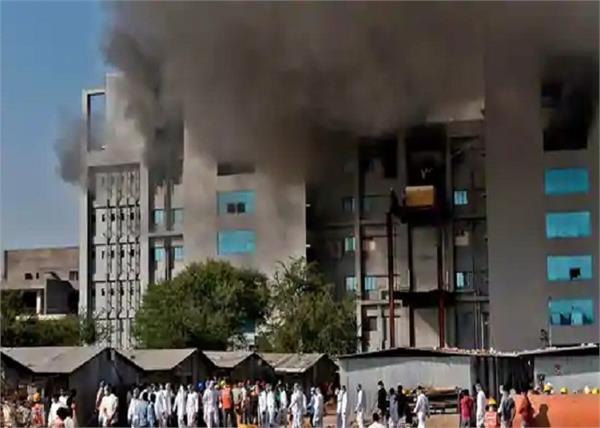 5 killed in fire at pune s serum institute s