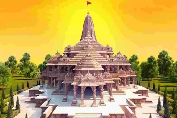 ram temple construction 3 years 1100 crores