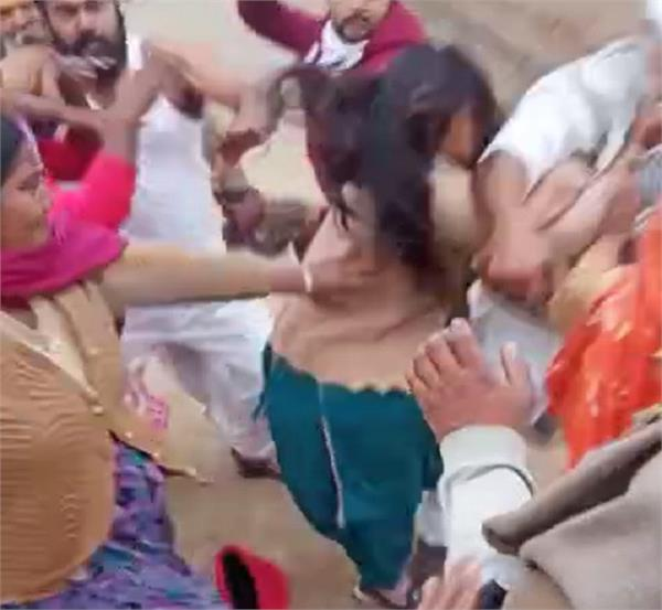 sc families women beaten video viral
