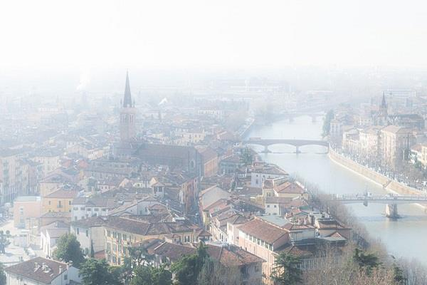 two italian cities air pollution deaths