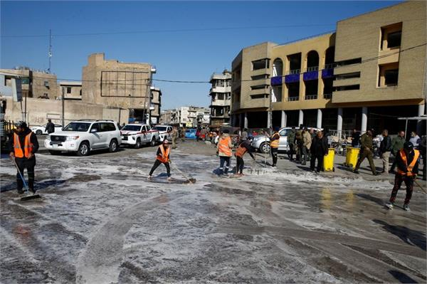 islamic state claimed responsibility for two suicide attacks in baghdad