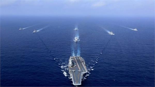 us sends aircraft carrier group in south china sea amid china taiwan tension