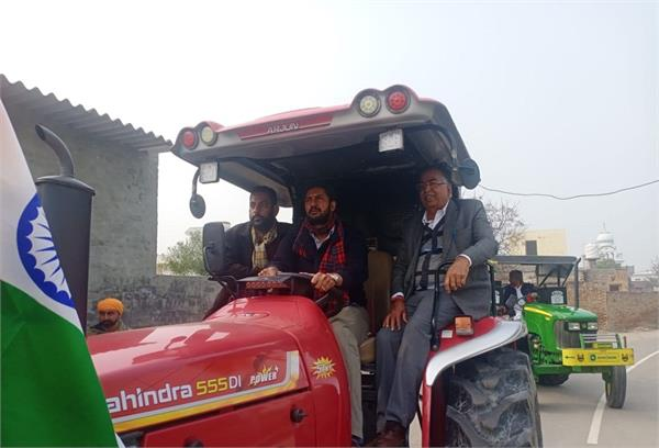 tractors from delhi will be participating in the march