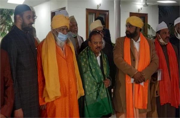 20 sufi leaders meet nsa ajit doval