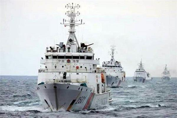 china allowed security forces to use weapons in maritime area