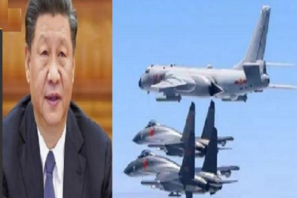 taiwan claims 8 chinese bomber planes 4 fighter jets enter air space