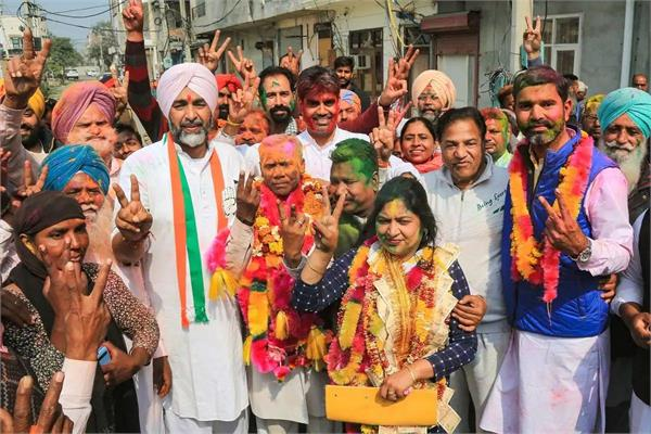 congress victory in corporate elections reveals mood of punjab voters