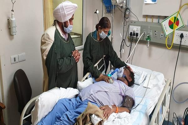 sardool sikander critical condition