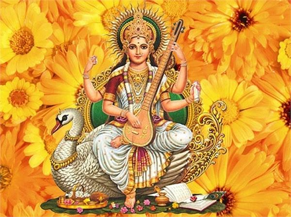 art  education  goddess saraswati  birthday  basant panchami