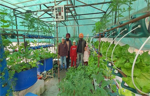 home vegetables agriculture gurdaspur automobile engineer parminder singh