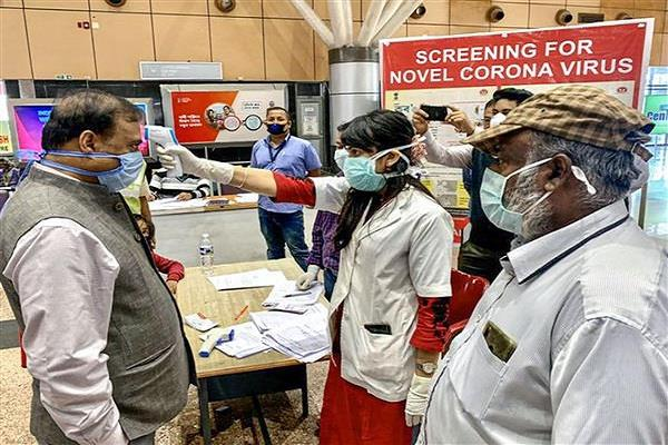 coronavirus negative report punjab 5 states delhi entry