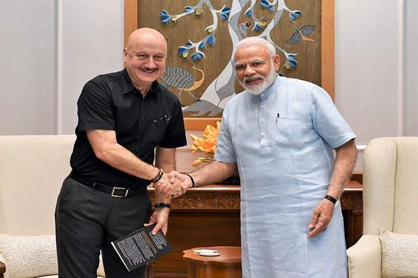 p m  anupam kher  happy with modi  s letter  know what is written in it