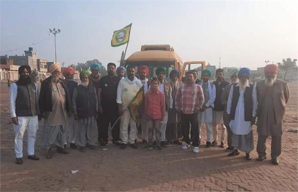 delhi dharna  villages  farmers  jathas