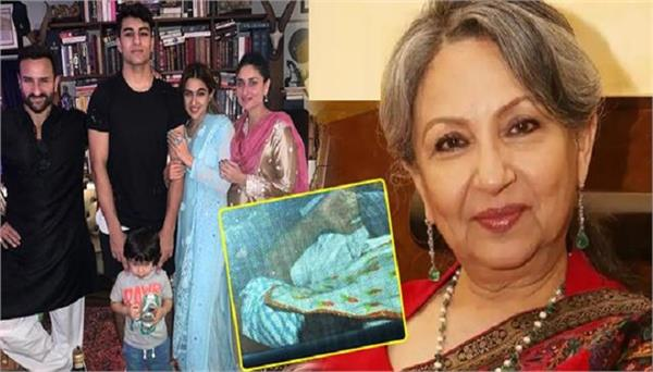 saif ali khan mother sharmila tagore not meet newborn