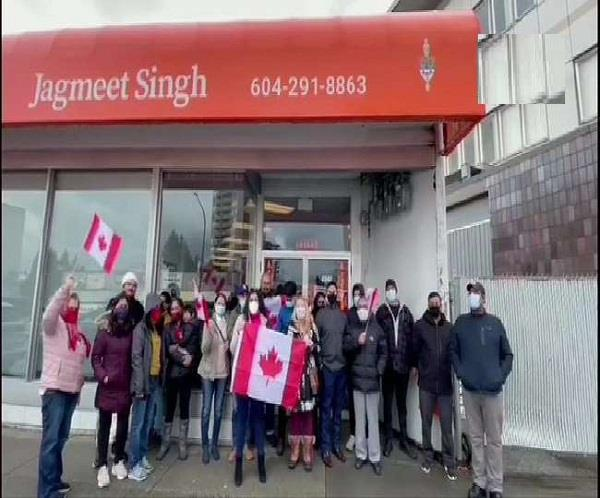 canada  indian community  protest