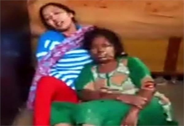 high voltage wires  women  current  injured