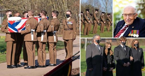 captain sir tom moore funeral