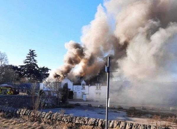 200 year old hotel fire