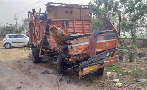jalandhar  nakodar road  accident  1 death  2 injured