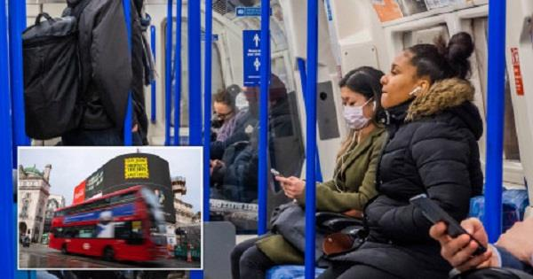 london  people  face masks