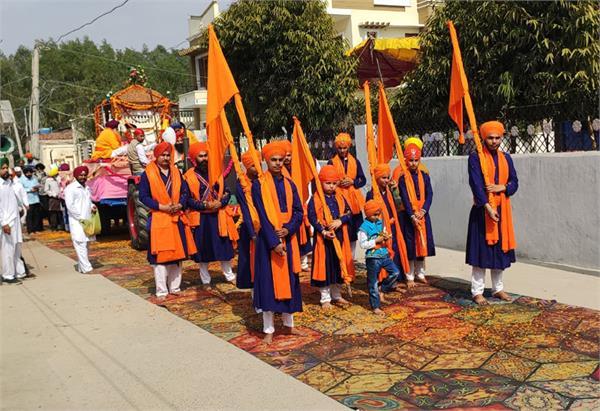 prakash purab celebrated in tanda