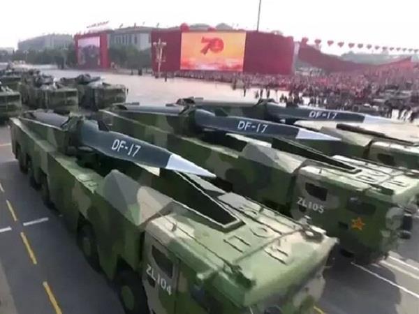 china arms deployed