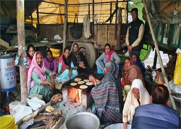 farmers delhi tikri singhu border anganwadi workers sri muktsar sahib