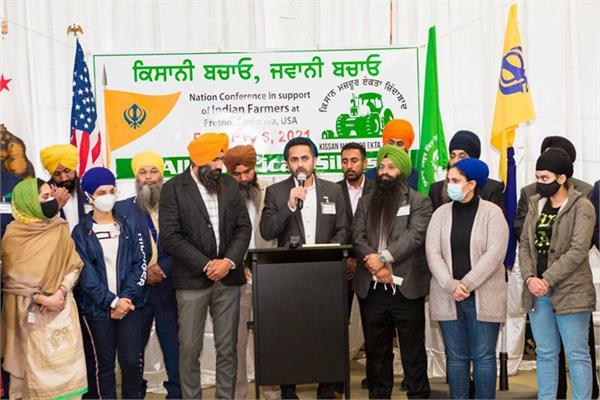 usa  sikh institutions  farmer movement