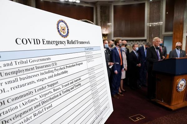 democratic lawmakers approve corona relief plan