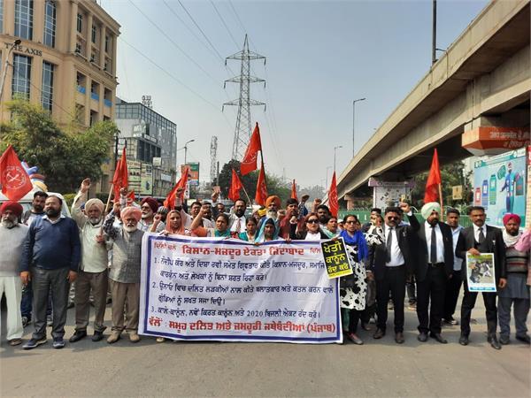 peasant movements  organizations  dharnas