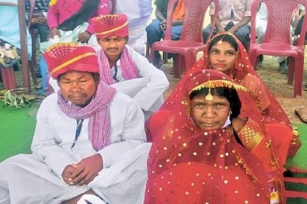 jharkhand marriage 55 couples live in relationship