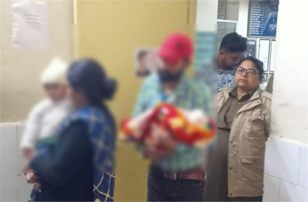 moga 2 months old baby salesman parents arrested