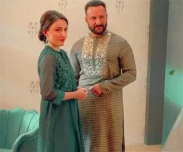 saif had a photoshoot with his sister  video shared by soha ali khan
