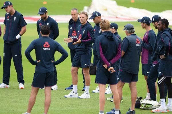 england cricket team  training  corona test