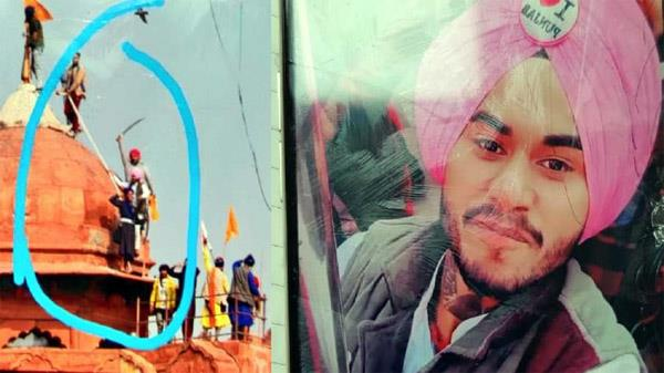 accused jaspreet singh arrested for climbing red fort on january 26