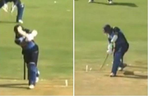 cheteshwar pujara first t20i century  video goes viral