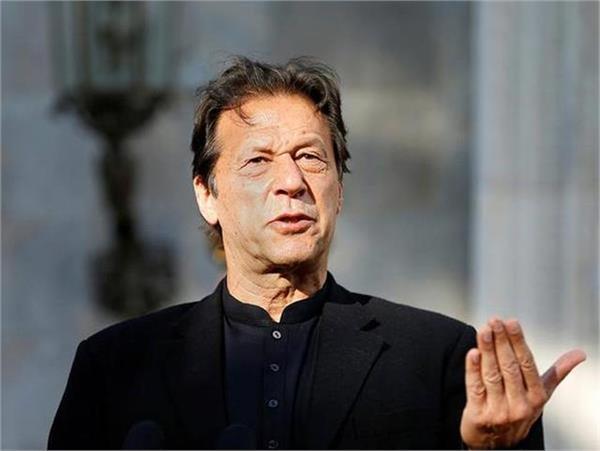 speaking on balakot anniversary  imran said yes to talks with india
