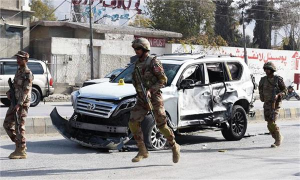 pak security forces vehicle attack in balochistan  2 killed